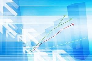 さくらは続急伸、第1四半期の営業益は対上期業績予想進ちょく率72%