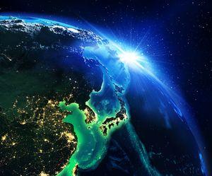日本と中国と韓国の「夜間の衛星写真」を見比べてみた=中国メディア