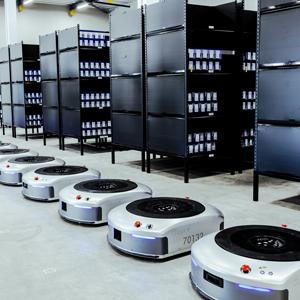 日本初・アリババグループが採用するAI物流ロボットを稼働開始 作業効率は人力の6倍