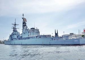 台風の影響で、中国軍艦が参加する日本の観艦式が中止・・・中国ネットの反応