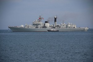 日本に寄港した中国海軍、ある行動で「大国としての風格」を示した=中国メディア