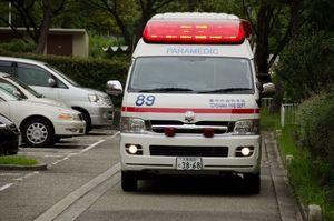 救急車 と 消防 車 が 来る 場合