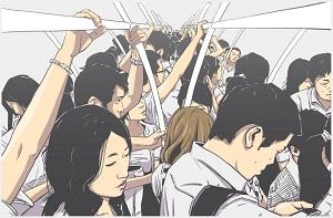 タクシーに乗れば良いのに! 日本人はなぜ満員電車に乗るのか=中国メディア