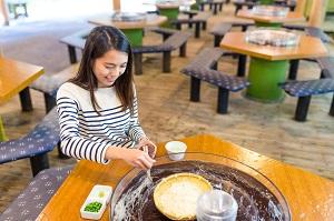 流しそうめんにチャレンジも「衛生面」が気になった「この食べ方は汚すぎる」=中国メディア