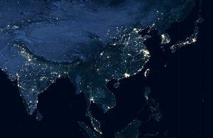 日中韓の「夜間における衛星写真」を比較してみた! 一番変化していたのはどの国だ? =中国報道