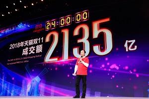 アリババ「独身の日」流通総額は約3.5兆円! サントリー「響」3秒で完売、輸入品No.1は日本