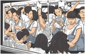 東京の満員電車は恐ろしい・・・観光客ならラッシュ時は避けるべき=中国メディア